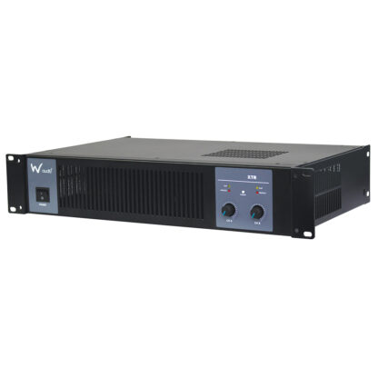 W Audio XTR Series stereo slave amplifiers
