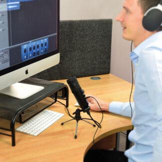 Citronic CU-POD USB podcasting microphone