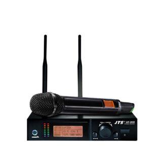 JTS UF-20SH true diversity wideband handheld wireless microphone system