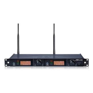 JTS UF-20R dual true diversity wideband wireless microphone receiver